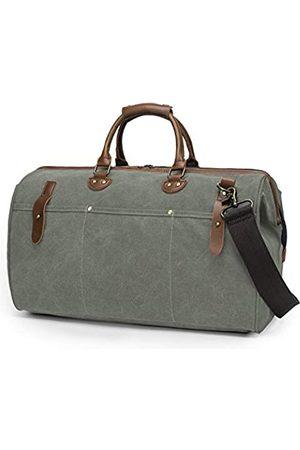 TAK Vintage Duffle Reisetasche Weekender Übernachtungstasche Reisetasche Reisetasche mit Schultergurt für Damen und Herren