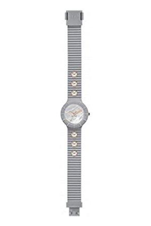 Hip Armbanduhr Frau Pearls quadrante Weiss e uhrarmband in silikon, Glam