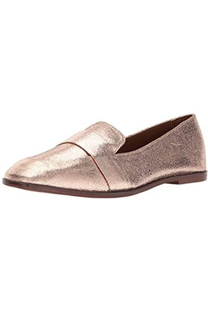 Kenneth Cole Women's Glide Slide Menswear Inspired Loafer with Square Toe Leather Upper Slip-On