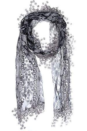 BSB AN Fashion Damen Schal mit Fransen