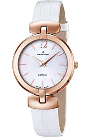 Candino Damen Analog Quarz Uhr mit Leder Armband C4567/1