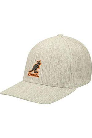 Kangol Herren Caps - Mütze Kappe 3D Wool Flexfit Cap Fitted Fullcap Basecap Baseballcap Fullcap Baseballcap (S/M (54-57 cm) -)