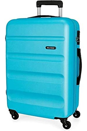 Roll Road Flex Mittlerer Koffer 46x65x23 cms Hartschalen ABS Kombinationsschloss 56L 3