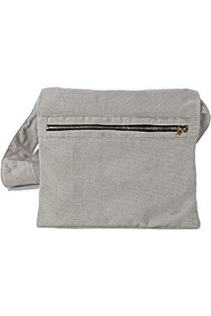 KIKS Design Co Zippy Gürteltasche mit Reißverschluss, zum Binden an der Taille, als Umhängetasche, Handyhalter, Gürteltasche, Reisen, Unisex, Grau (hellgrau)