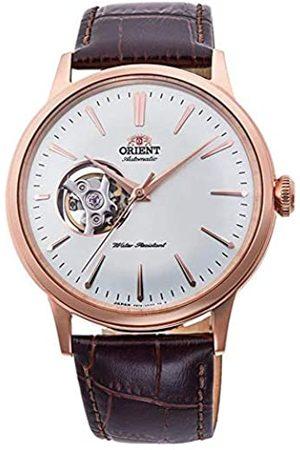 Orient Herren Analog Automatik Uhr mit Leder Armband RA-AG0001S10B