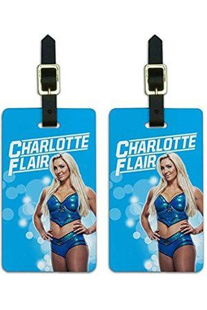 Graphics and More WWE Charlotte Flair Gepäckanhänger für Koffer
