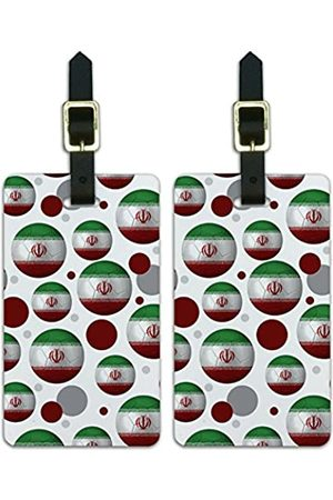 Graphics and More Graphics & More Futbol Fußball Country Z-Iran Flagge Fußball - Luggage.Tags.09800
