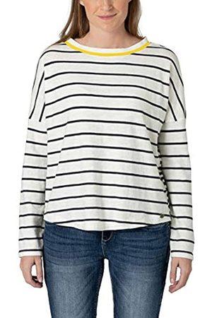 Timezone Damen Striped Knit Pullover