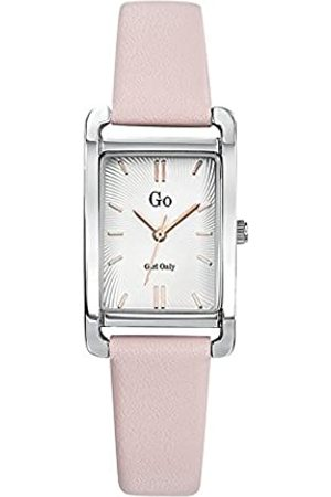 GO Girl Only Damen Analog Quarz Uhr mit Leder Armband 699114