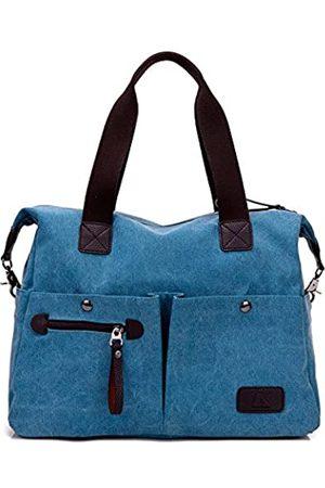 Hiigoo Reisetasche Casual Fashion Schultertasche Einkaufstasche Handtaschen Baumwolle Canvas Totes