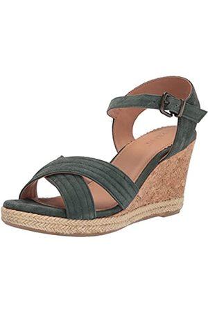 Crevo Damen Valentina Keilabsatz-Sandale