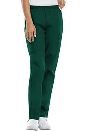 Cherokee Damen Cargohosen - Damen-Cargo-Peelinghose mit elastischer Taille - Grün - 5X-Groß