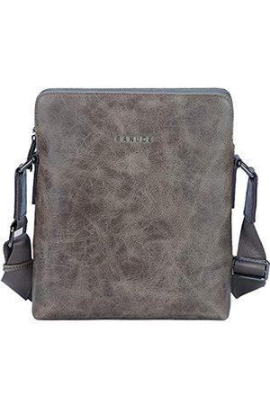 Banuce Umhängetasche aus Leder für Herren, kleine Umhängetasche, Umhängetasche, Umhängetasche, 24,6 cm (9,7 Zoll) iPad