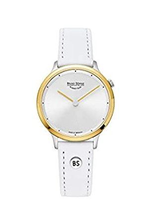 Soehnle Bruno Söhnle Damen Analog Quarz Uhr mit Echtes Leder Armband 17-23213-251