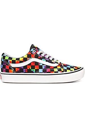 Vans Herren Comfycush Old Skool Fashion Sneaker Schuh, (Batik-Checker, )