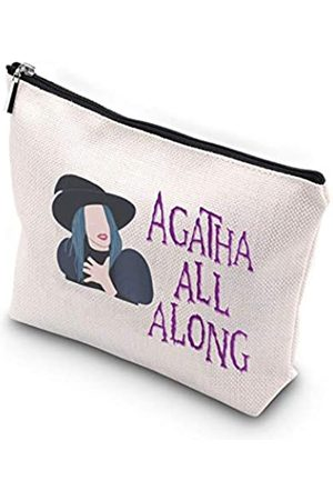 Generic WCGXKO Agatha Allalong Agatha Harkness inspirierte Reißverschlusstasche Kosmetiktasche für beste Freundin, Mutter