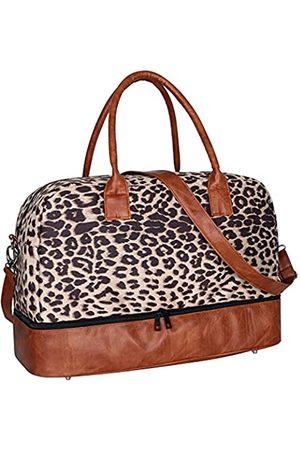 Searock Damen-Reisetasche aus Segeltuch mit Schultergurt und Schuhfach