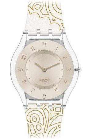Swatch Damen Uhren - Damen-Armbanduhr Oriental Print SFK359