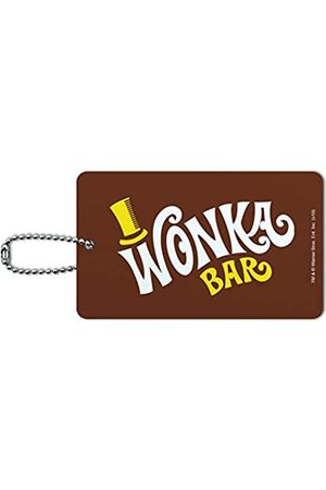 Graphics and More Willy Wonka Gepäckanhänger mit Logo Wonka Bar