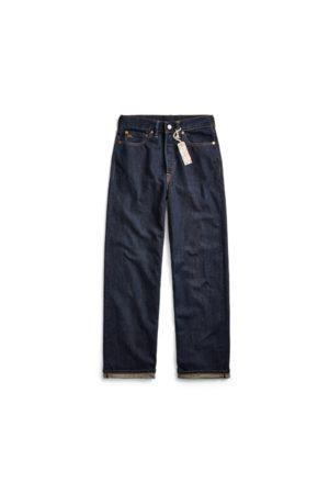 RRL Straight-Fit Jeans mit hoher Leibhöhe