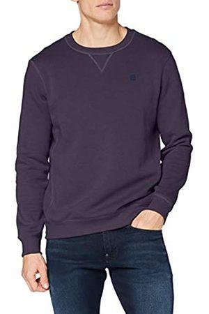 G-Star Herren Premium Core Sweatshirt, Purple (dk grape-C235-800)