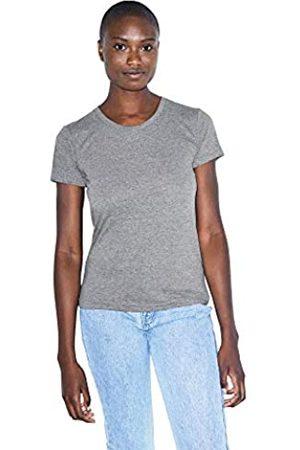 American Apparel Damen Tri-Blend Slim Fit Crewneck Short Sleeve Track T-Shirt