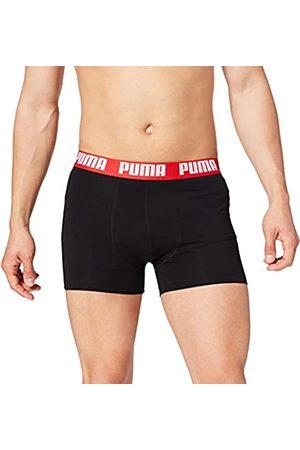 PUMA Mens Basic Boxers Boxer Shorts, red/Black