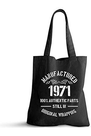ForbiddenPaper 1971 Geburtstagsgeschenke für Damen und Herren | Lustiges Geschenk zum 50. Geburtstag Vintage 1971 Natürliche Baumwolle Wiederverwendbare Tragetasche Classic 1971