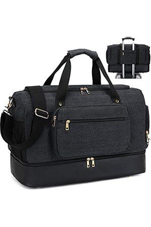 BTOOP Weekender Reisetasche für Herren, Segeltuch