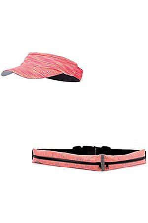 Thion Sport-Gürtel für den Außenbereich, mit zwei Taschen, schweißfest, reflektierend, schmal, für Smartphones mit 6 Zoll (15