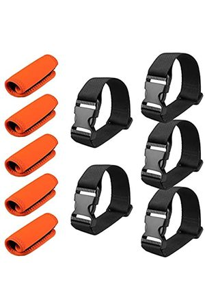MAGARROW Add A Bag Straps with Neoprene Luggage Handle Wraps Grip for Travel Bag Koffer 10er Pack
