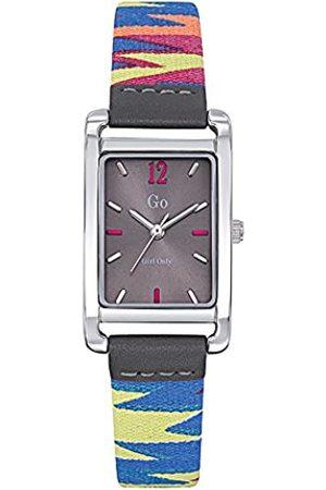 GO Girl Only Damen Analog Quarz Uhr mit Stoff Armband 699141