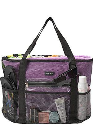 SAGIV&SAHEN Große Strand-Reise-Netztasche, leichte Tragetasche für Frauen, sanddichte Handtaschen