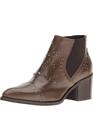 Andre Assous Andre Assous Women's Frankie Ankle Bootie, Brown Calf