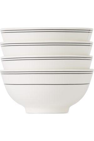 Hudson Wilder White Rings Leonne Bowl Set