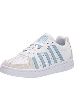 K-Swiss Damen WESTCOURT Sneaker, White/Sky Blue