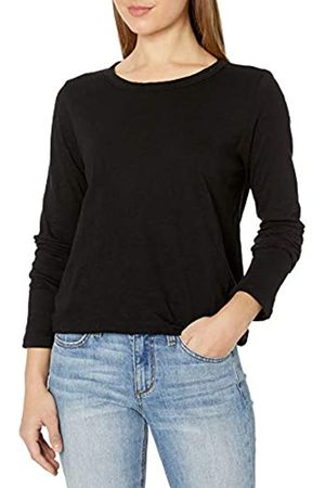 Graham & Spencer Damen Originals Langarm-T-Shirt mit Rundhalsausschnitt - - Groß
