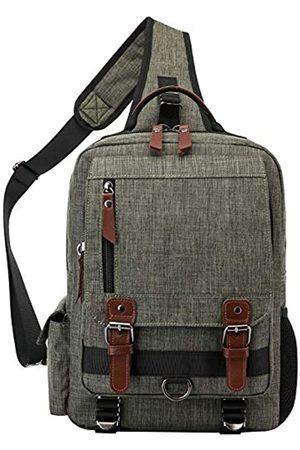 El-fmly Messenger Fashion Outdoor Reise Schulter Crossbody Sling Bag Laptop Leichter Rucksack für Herren