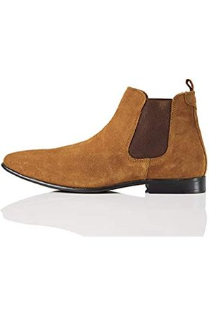 FIND Albany Suede Chelsea Boots, (Tan)