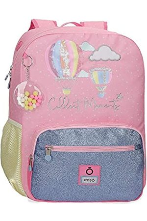 """Enso Collect Moments Laptop-Rucksack für die Schule Mehrfarbig 32x43x15 cms Polyester 14"""" 20.16L"""