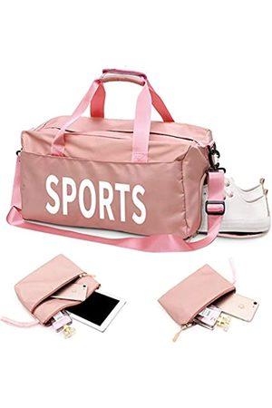 Atsani Sporttasche, Duffle Bag mit Nassfach, Schuhfach, 3 Stück, faltbare Reisetasche für Damen und Herren