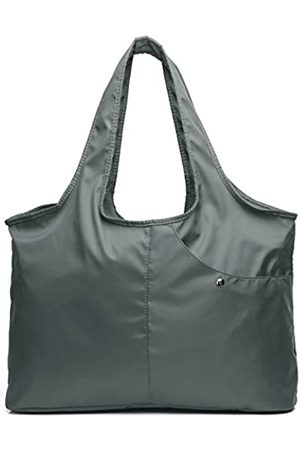VOLGANIK ROCK Damen Fashion Große Tote Schulter Handtasche Wasserdicht Tote Bag Multifunktionale Nylon Reise Schulter, (8045_grau)