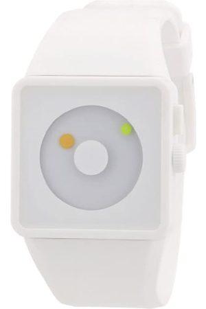 Nixon Unisex-Armbanduhr The Newton All White/Lum Digital Quarz Silikon A1161254-00