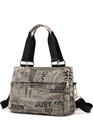 DOURR Crossbody Geldbörsen für Frauen Multi-Pocket Schulterhandtaschen Weiches Nylon Travel Hobo Taschen Pocketbooks