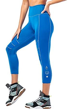 Zumba Fitness Zumba Aktiv Sport Capri High Waist Leggings Stilvoll Workout Fitnesshose Damen