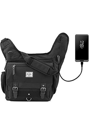 d'yallee Crossbody Messenger Bag Herren Wasserdichte Schulter Business Arbeitstasche Nylon, (Schultertasche - )