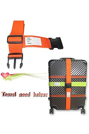 AllyouNeat 2 x verstellbare Gepäckgurte, Koffergürtel, erhältlich in 61 cm oder 81