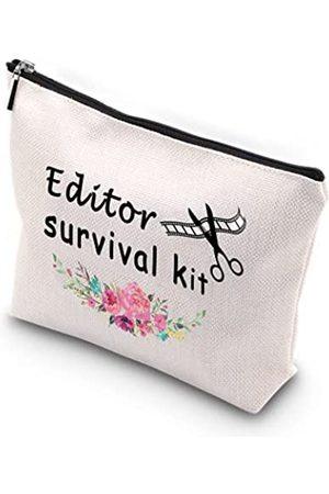 Generic WCGXKO Editor-Survival-Kit mit Reißverschluss, Make-up-Tasche, Foto-Designer, Video-Film, Bearbeitung von Audio-Sound