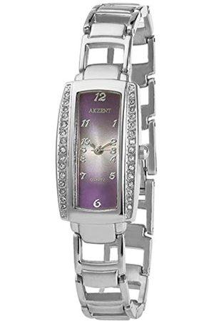 Akzent Damen Analog Quarz Uhr mit Kein Armband SS8223800001