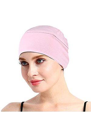 FocusCare Schlafhaube aus Bambus für Haarausfall für Chemo-Frauen - Pink - Einheitsgröße